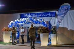 Ölfestival Oktoberfest vid Valamar i tjära, Kroatien arkivfoton