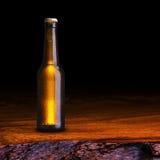 Ölflaska Arkivfoto