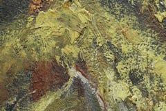 Ölgemäldefragment als Bild Lizenzfreies Stockfoto