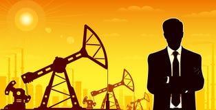 Ölindustrieller Lizenzfreie Stockfotos