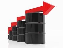 Ölkrise lizenzfreie abbildung