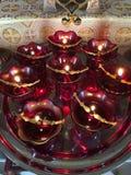 Öllampen Stockbild