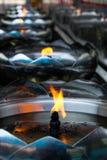 Öllampen lizenzfreie stockfotos