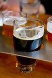 Ölmärkdukar på bryggeriet royaltyfria bilder