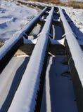Ölpipeline Stockbilder