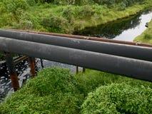 Ölpipelines Stockbild
