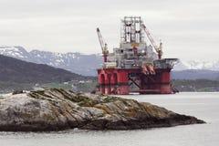Ölplattform Lizenzfreies Stockfoto