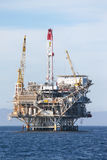 Ölplattform Stockfoto