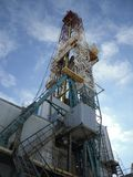 Ölplattform BU-5000 Lizenzfreie Stockfotografie
