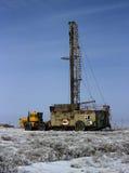 Ölplattform des Landes lizenzfreie stockfotos