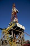 Ölplattform des Landes Lizenzfreie Stockbilder
