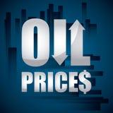 Ölpreise Stockfoto
