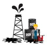 Ölpreise Lizenzfreie Stockfotografie