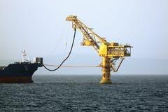 Ölpumpen des Öls Stockfotos
