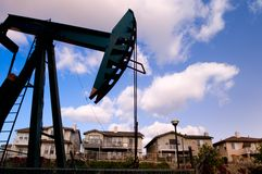 Ölquelle Lizenzfreies Stockfoto
