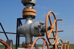 Ölquelle Stockfotos