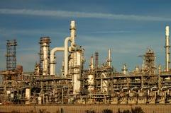 Ölraffinieren-Teildienst Stockfoto