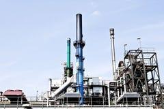 Ölraffinierenfabrik Stockfoto