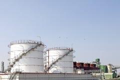 Ölraffinierenfabrik Stockfotografie