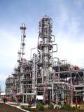 Ölraffinierenfabrik Lizenzfreie Stockbilder