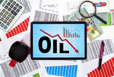 Ölsanktionen Lizenzfreie Stockfotos