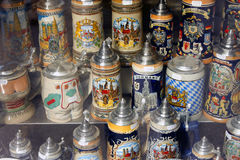 Ölsouvenir - MUNICH - Tyskland arkivbild