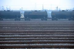 Öltank-LKW-Serie Lizenzfreies Stockfoto