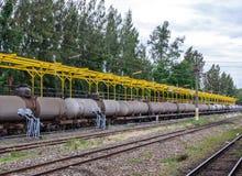 Öltanker Stockbild