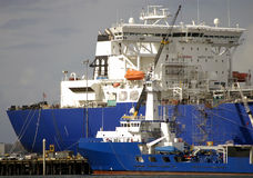 Öltanker Stockfotos