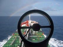 Öltankersegeln Lizenzfreie Stockfotografie