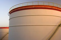 Öltanks Lizenzfreies Stockbild