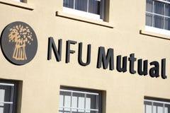 Ömsesidigt logotecken för NFU Royaltyfria Bilder