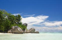 Ön av drömmar. Vila och avkoppling. Royaltyfri Fotografi
