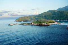 Ön av Haiti karibiskt Royaltyfri Fotografi