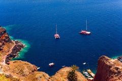 Ön av Santorini royaltyfria foton