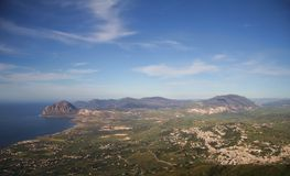 Ön av Sicilien Royaltyfri Bild