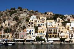 Ön av Simi i Grekland Royaltyfri Bild