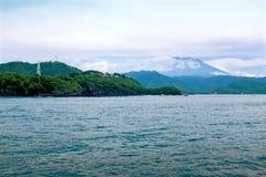 Ön Bali i Indonesien Arkivbilder