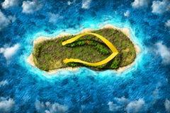 Ön i form av en häftklammermatare Fotografering för Bildbyråer