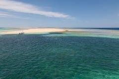 Ön i Röda havet Royaltyfri Bild