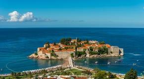Ön San Stefan Royaltyfri Fotografi