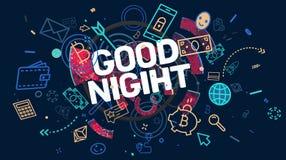Önska för bra natt Royaltyfri Fotografi