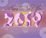 Önska med ett nytt år Royaltyfri Fotografi
