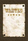önskad affischvägg royaltyfria bilder