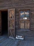 önskad sheriff för hjälpkontor s Arkivbilder