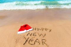 Önskar ett lyckligt nytt år Royaltyfri Fotografi