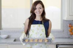 Önskar vem kakor? royaltyfria bilder