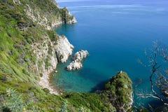 ÖParadise kust- hemlighet royaltyfria bilder