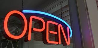 öppen affär Royaltyfria Bilder