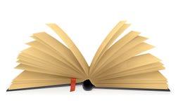 öppen bok Fotografering för Bildbyråer